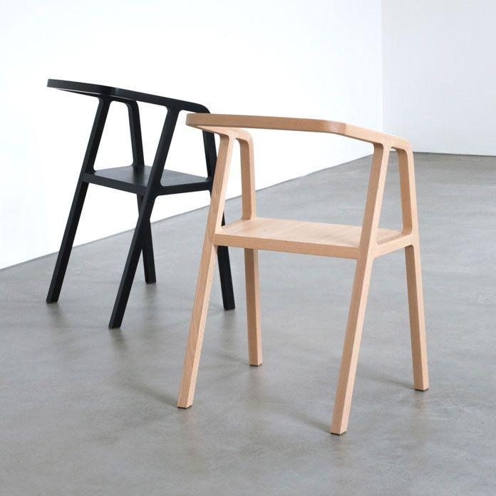 A Chair, A Minimalist And Formal Chair Design By Austrian Product Designer  Thomas Feichtner