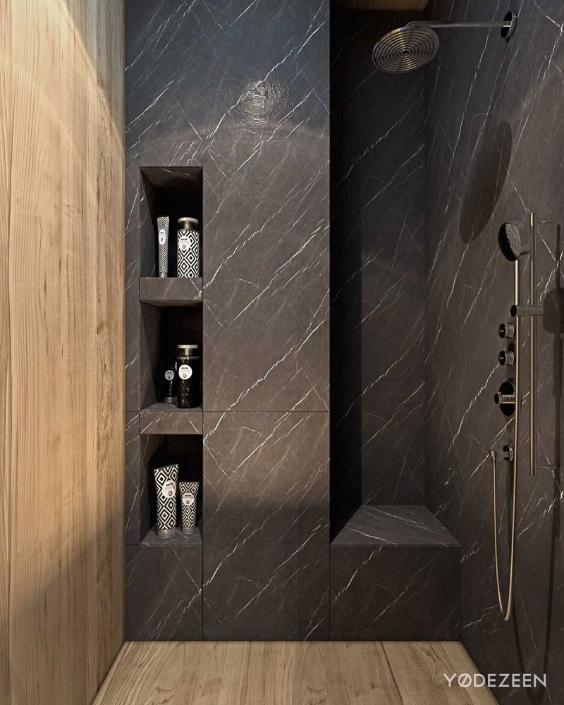 Am nagement int rieur maison de luxe adapt e aux enfants for Amenagement salle de bain douche italienne