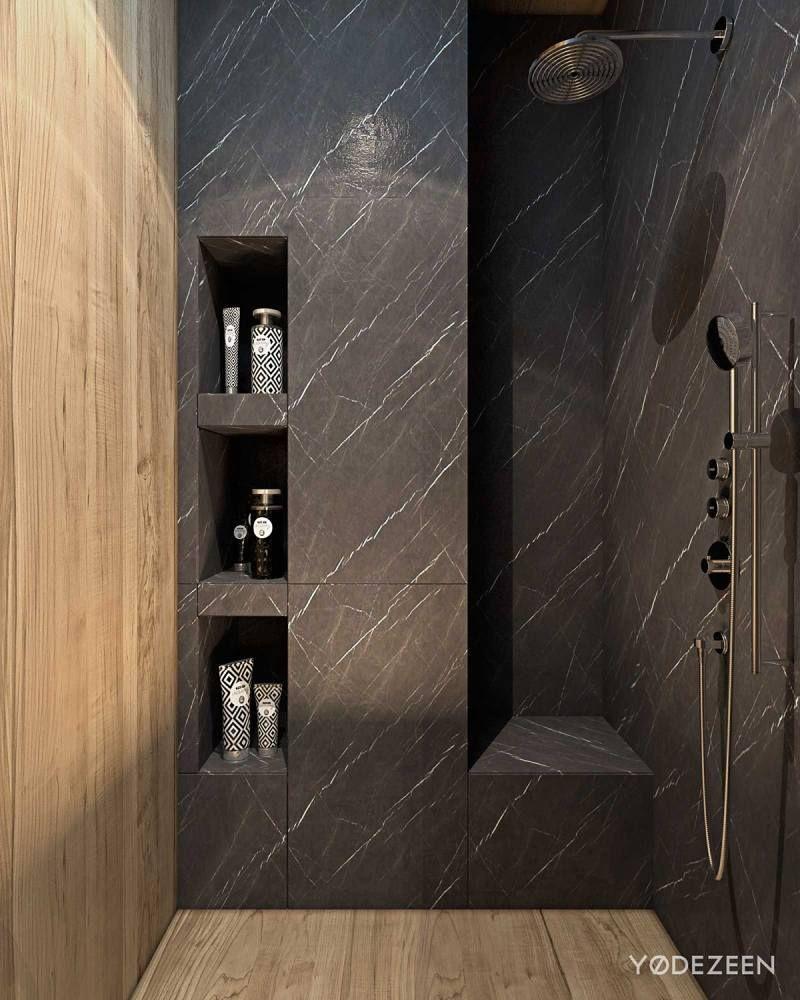 Am nagement int rieur maison de luxe adapt e aux enfants douche italienne int rieur salle for Amenagement salle de bain douche italienne