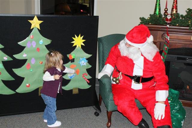 Stories with Santa ~Sunflower Storytime