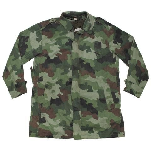 a50eb498847 Serbian M89 Camouflage Field Parka with Lining- Used | Survivalists ...