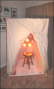 Near infrared sauna for detox Sauna, Infrared sauna, Red