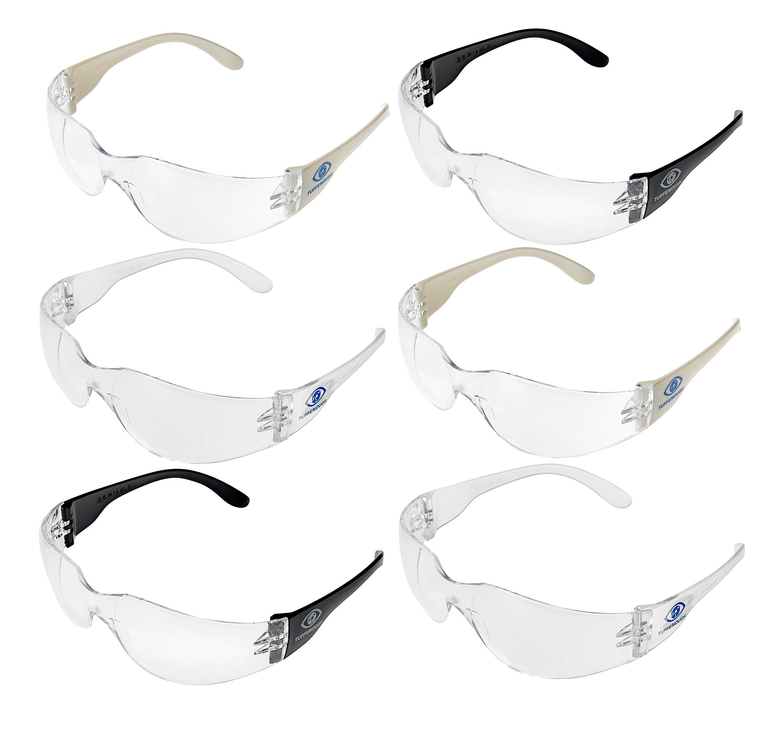 Tuffenough Anti Fog Safety Glasses 6 Piece >>> You can