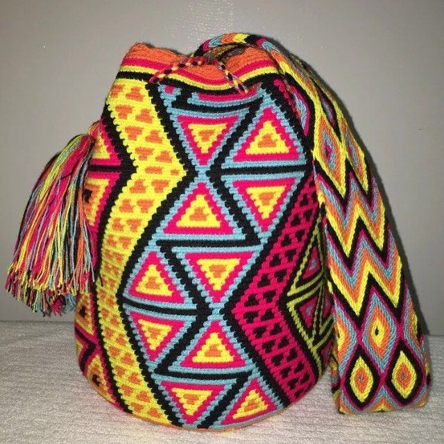 SOLD #wayuubags #chilabags #mochilabags #beach #bohochic #summerbags #beachbags…