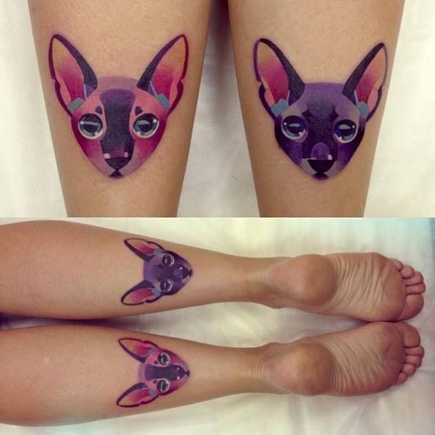 Pin De Paulina Spilker Em Inspired Desenhos De Tatuagem De Gato Tatuagens Aquarela Tatuagens Pequenas De Gato
