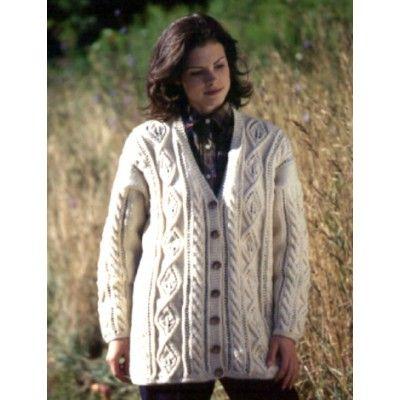 Free Knitting Patterns Ladies Cardigans Jackets : Free Intermediate Womens Cardigan Knit Pattern Free Knit Cardigan &...