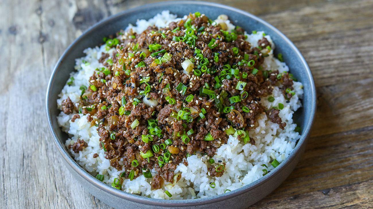 Ground Beef Bulgogi | Recipe | Bulgogi beef, Ground beef ...