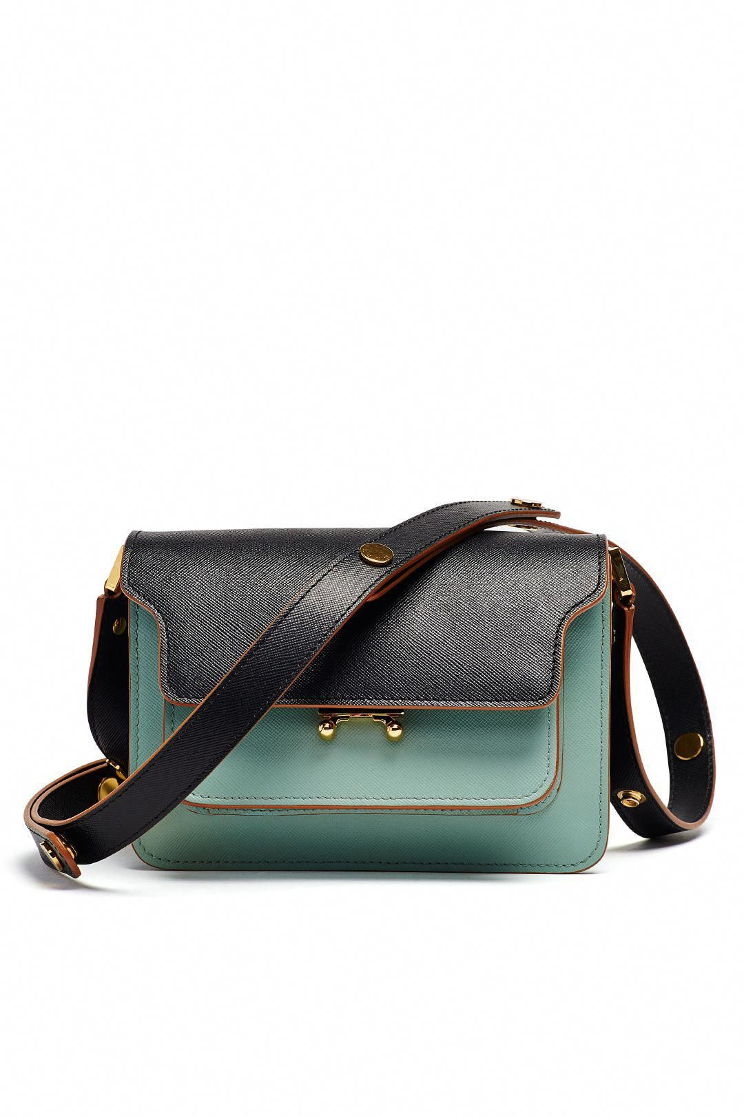Rent Tea Green Trunk Shoulder Bag By Marni Accessories For 295 Only At The Runway