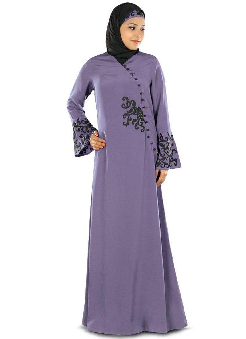 c1355eaf8b118 Shanum Islamic Abaya Purple in 2019 | #Abaya #Islamic Clothing ...