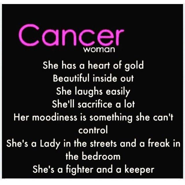 Cancerwoman Cancer Zodiac Facts Cancer Horoscope Cancer Facts