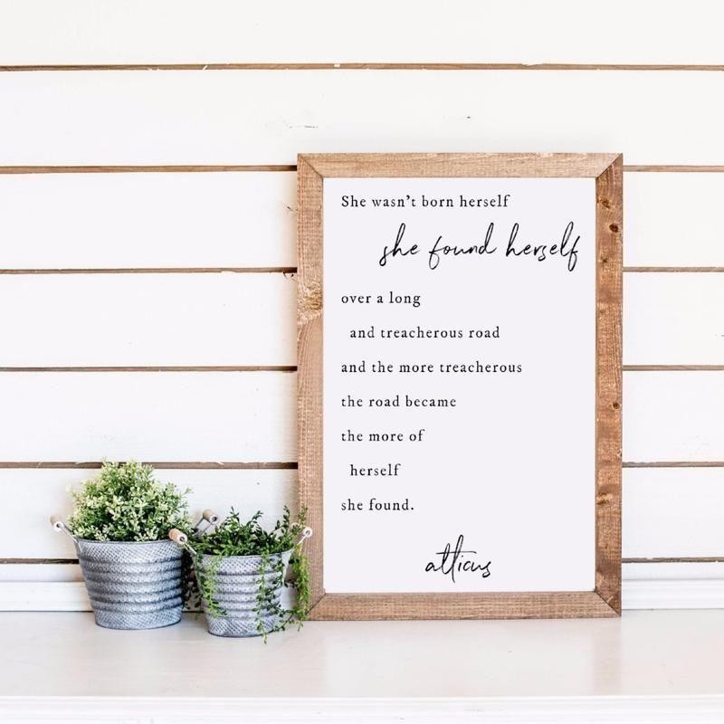 Pin By Becky Sharrah On Inspiration Wood Frame Sign Wood Frame Frame