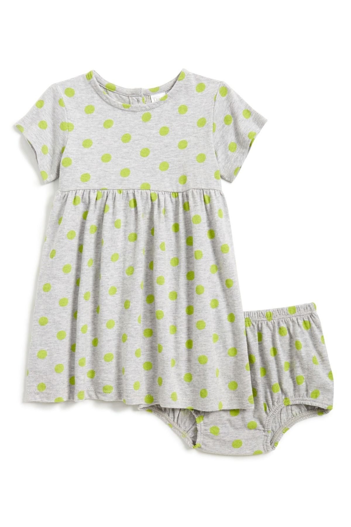 Nordstrom Baby Cotton Dress & Bloomers Baby Girls