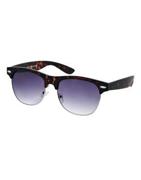 2ef1a50f7c Jeepers Peepers Ryan Clubmaster Sunglasses in Matte Tortoise