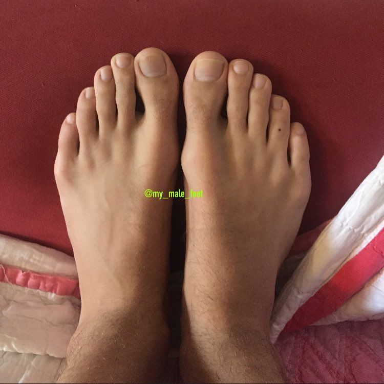 Perfect male feet