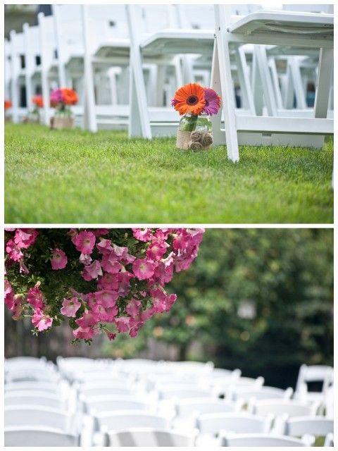 Simplicity in the detail, backyard wedding inspiration, via Aphrodite's Wedding Blog