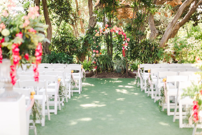 Colorful Romantic San Diego Botanic Garden Wedding Wedding Locations California Wedding Southern California Southern California Wedding Locations