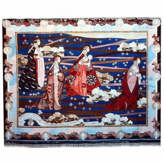 Frida Hansen / absolutetapestry.com, Semper Vadetes, 1905