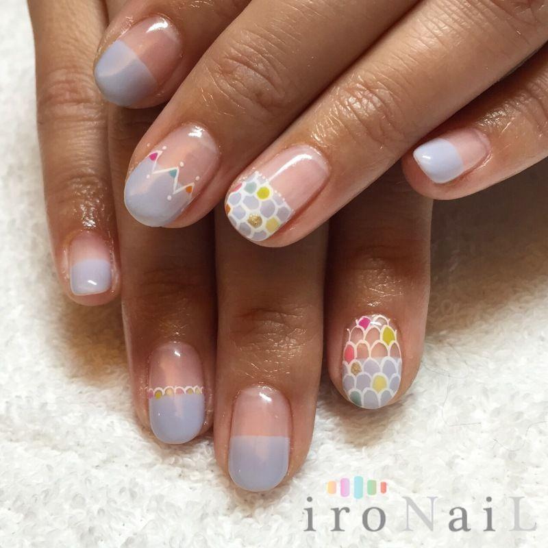 26 Impossible Japanese Nail Art Designs: ネイル, ネイルサロン, ネイルのアイデア