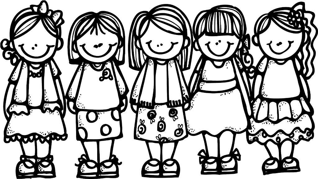 Friends Coloring Pages Girl Guide Group Google Search Activity Day Girls Activities For Girls Activity Days