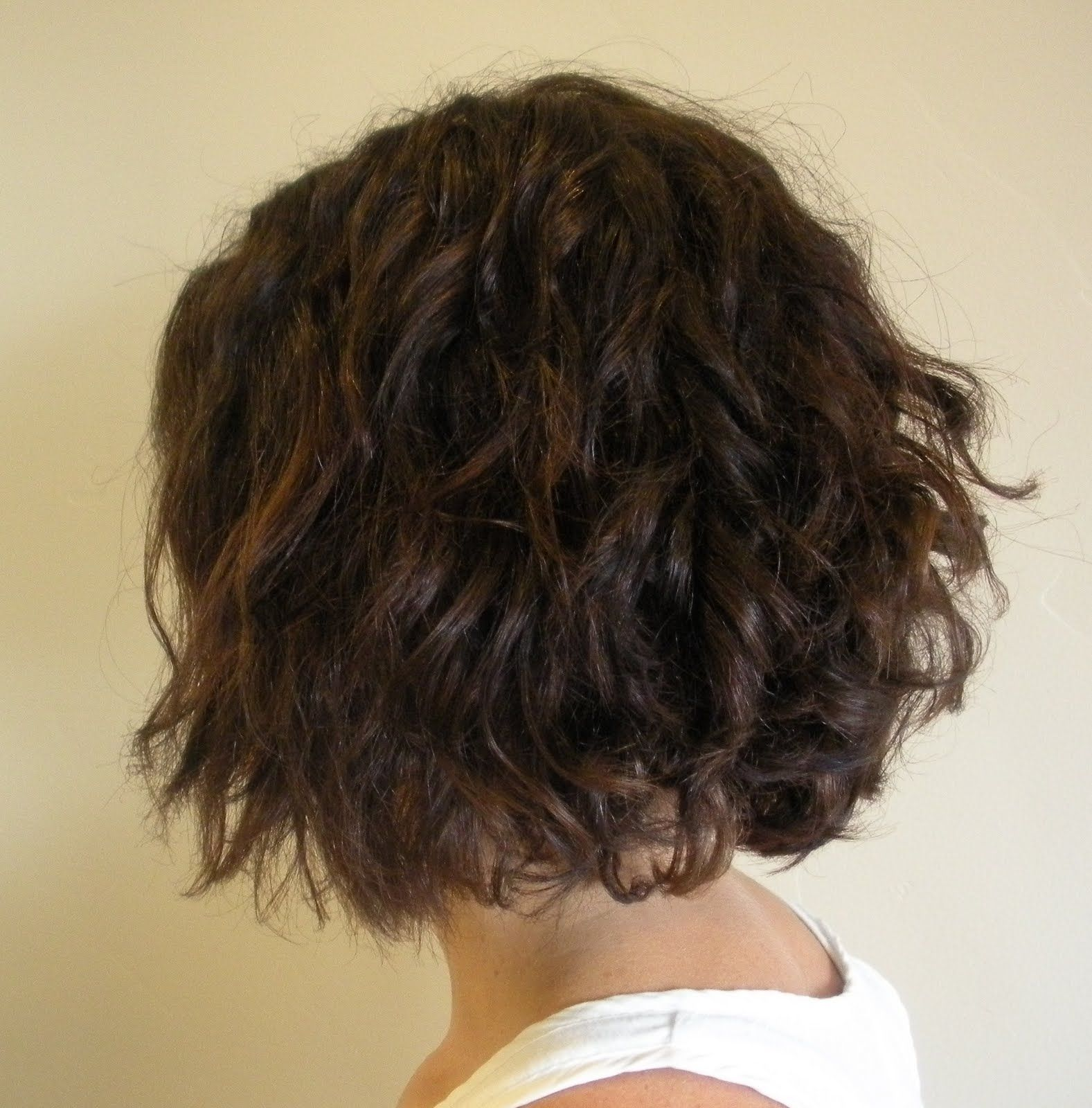 Beach Wave Perm Wave Perm Short Hair Loose Perm Short Hair Short Permed Hair