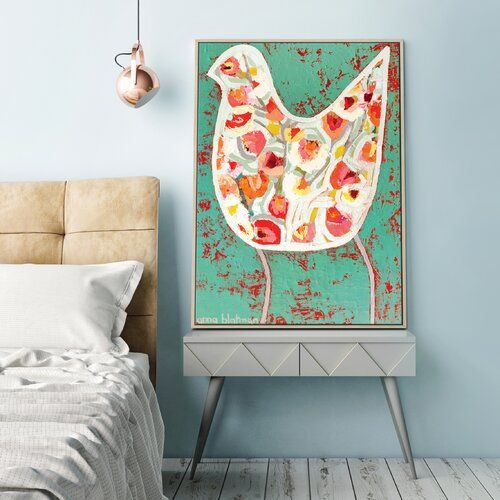 "Photo of East Urban Home Leinwandbild ""North South Drift"" von Alan Annells, Kunstdruck 