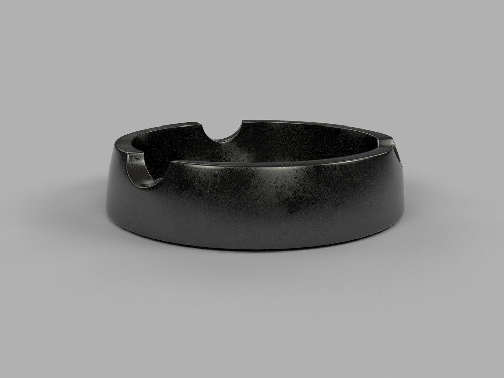 Ash Tray (With images) | Ashtray, Geometry