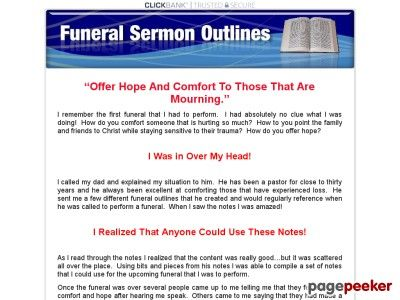 (adsbygoogle = window.adsbygoogle || []).push();     (adsbygoogle = window.adsbygoogle || []).push();  Funeral Sermon Outlines, Sermons, Services, Messages    http://funeralsermonoutlines.com/ review     (adsbygoogle = window.adsbygoogle || []).push();  Use These Sermon Notes To...