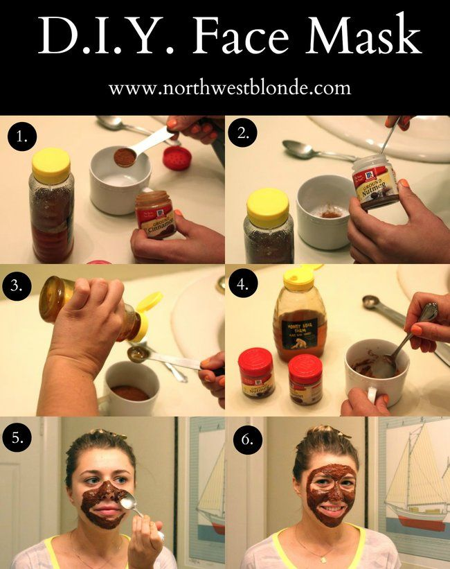 Easy make at home face mask to help clear acne and acne scarring // Northwest Blonde