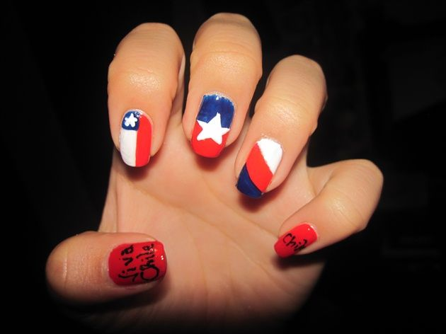 Diseos para el 18 de septiembre chile nail art gallery by diseos para el 18 de septiembre chile nail art gallery by nails magazine prinsesfo Choice Image