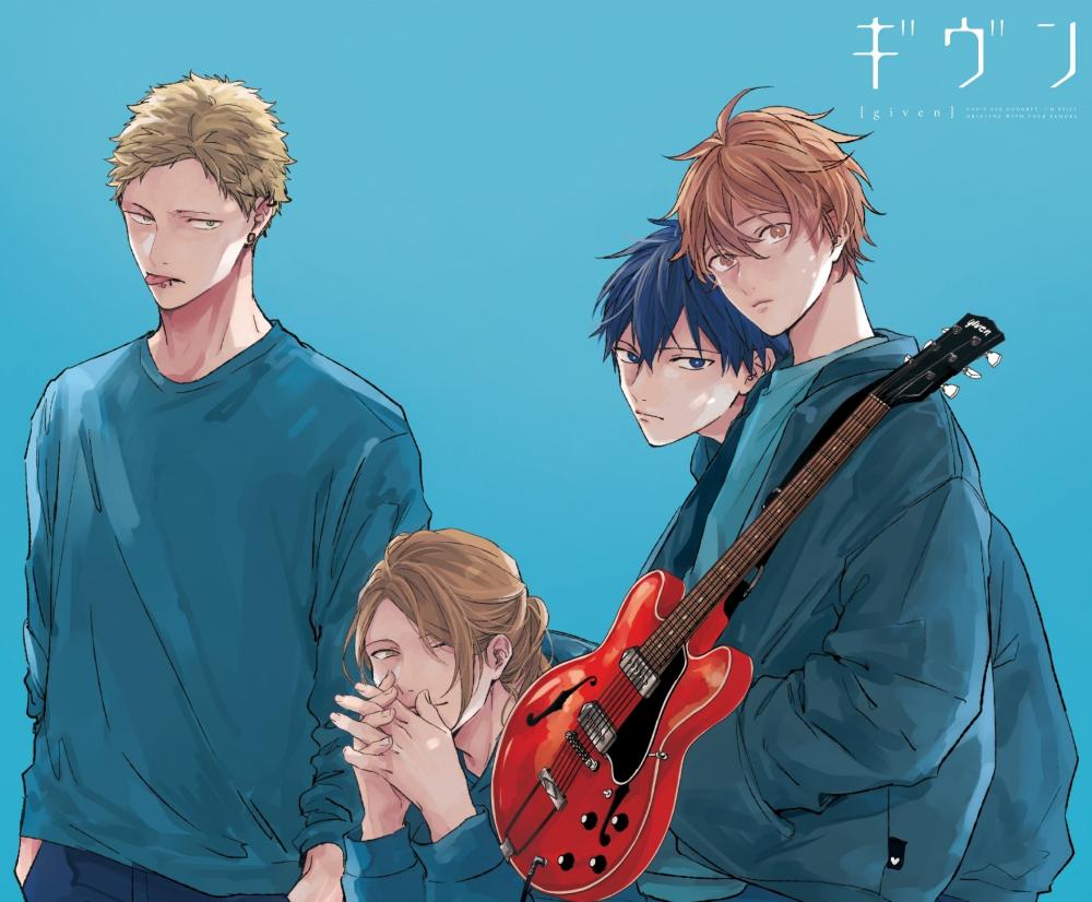Anime Given Ritsuka Uenoyama Mafuyu Satou Akihiko Kaji Haruki Nakayama Wallpaper Anime Manga Anime Anime Shows