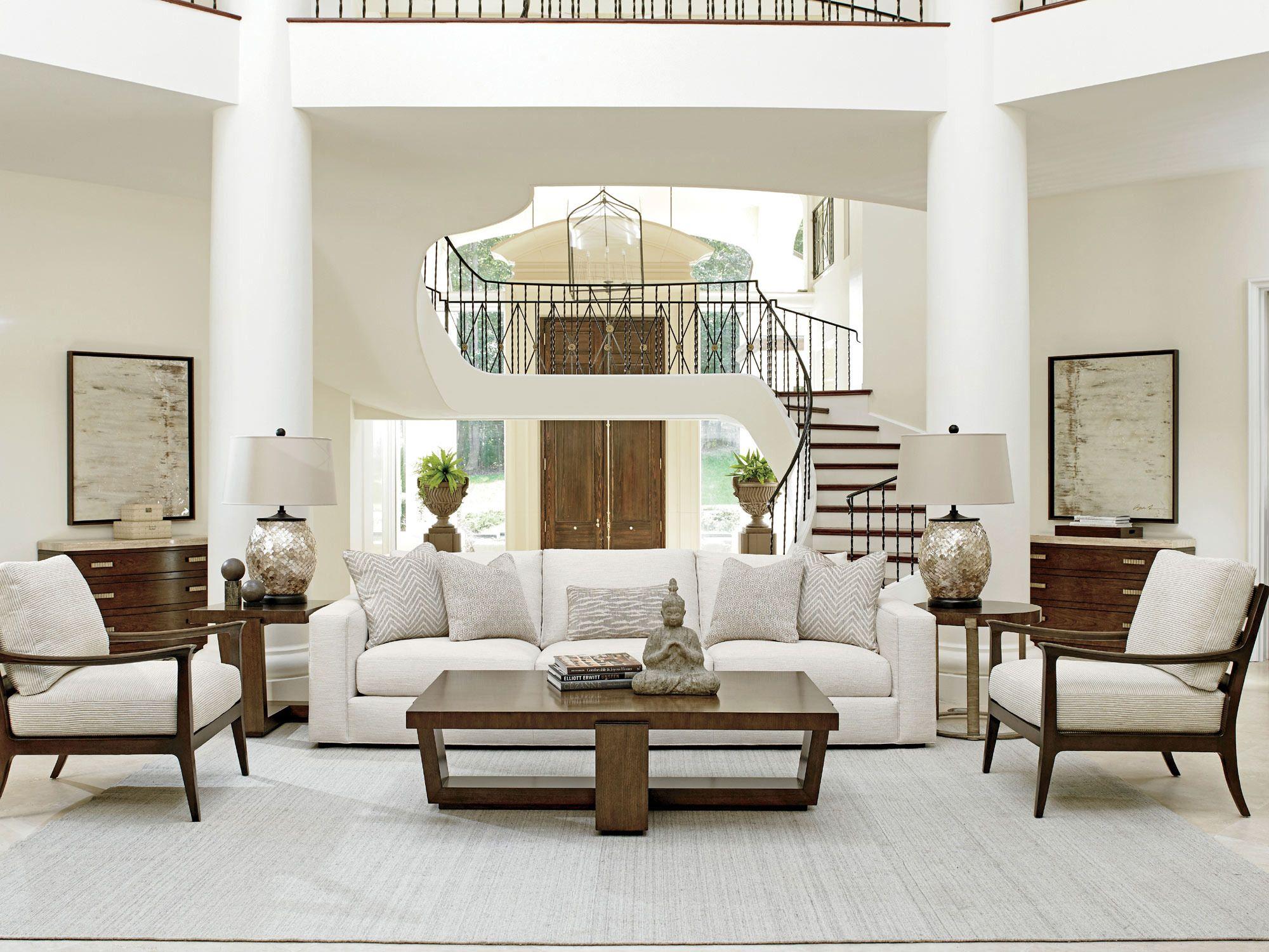 Laurel Canyon Bellevue Sofa in Beige Lexington