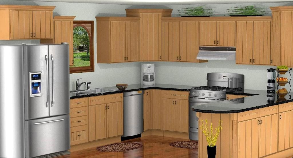 Virtual 3D Kitchen Design | 3d Kitchen Design | Kitchen ...