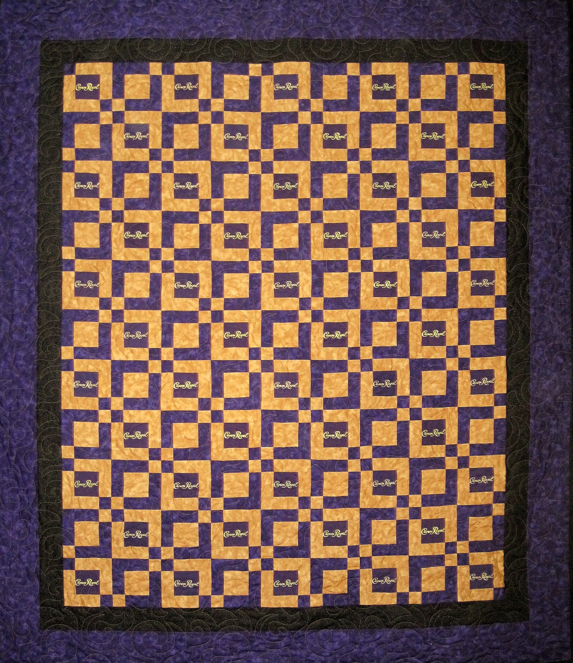 quilt made out of crown royal bags | Crown Royal Quilts | Quilts ... : crown royal quilt patterns free - Adamdwight.com