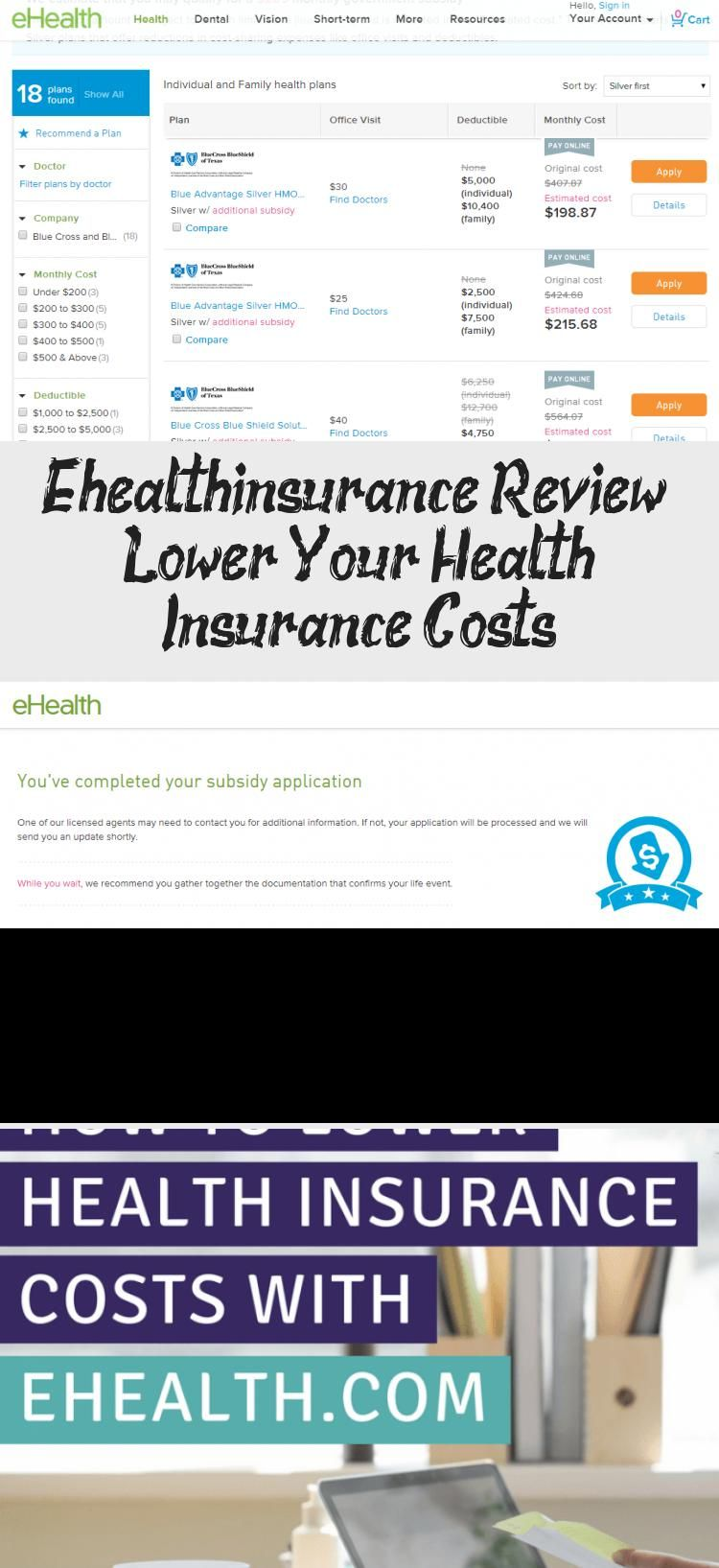 Ehealthinsurance Review Lower Your Health Insurance Costs