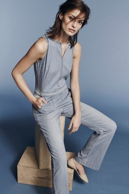 7a99852aa41 Hei Hei Chambray Utility Jumpsuit