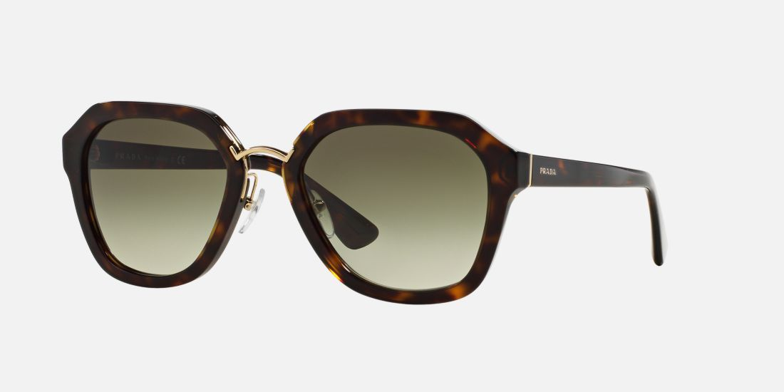 e9239aa8b1eaa Prada PR 25RS 55 55 Green   Tortoise Sunglasses