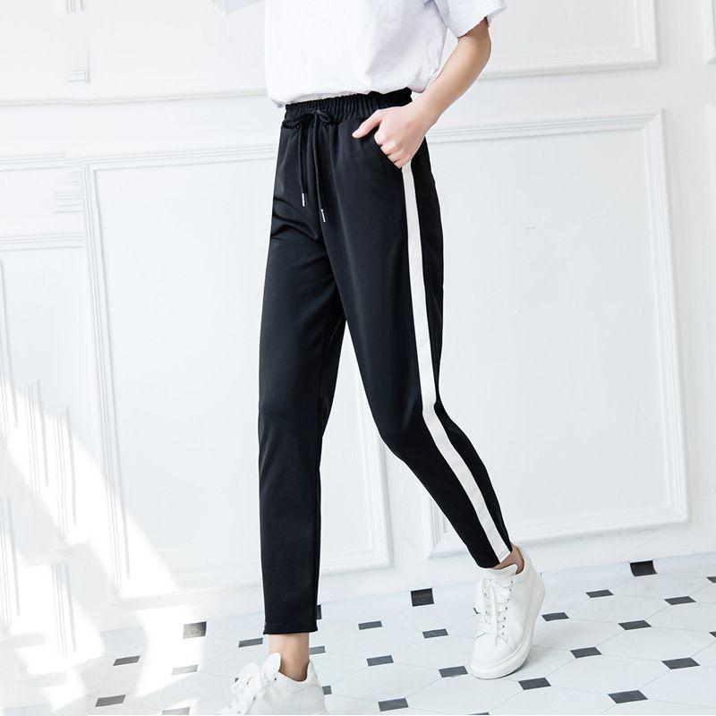 Cheap Pantalones sueltos Para Las Mujeres 2017 de primavera Invierno de La  Moda Otoño Pantalones 049358805a264