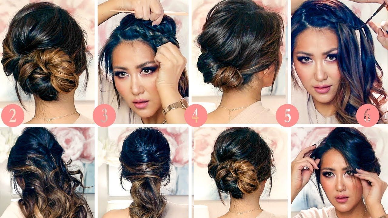Running Late Elegant Hairstyles For Work 2018 Easy Updos For Work Hairstyles Elegant Hairstyles Long Hair Styles
