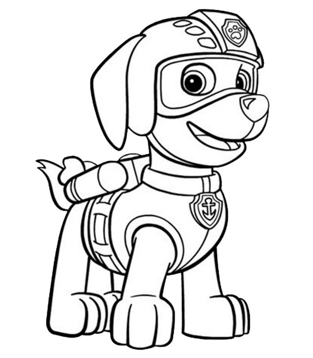 Paw Patrol Coloring Book Pages Coloring Home Paw Patrol Coloring Pages Paw Patrol Coloring Paw Patrol Printables