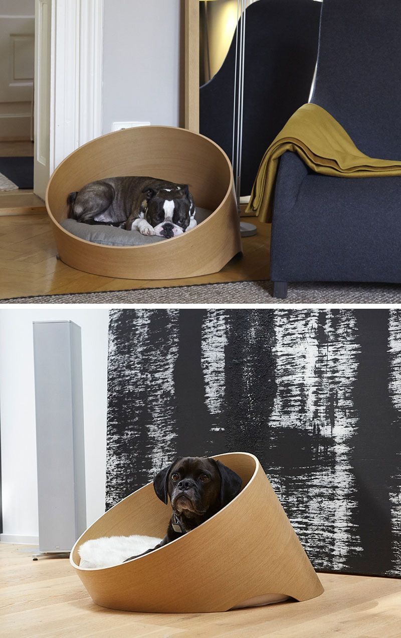 the covo dog bed keeps pets comfortable and suits any modern interior avec du bois pinterest. Black Bedroom Furniture Sets. Home Design Ideas
