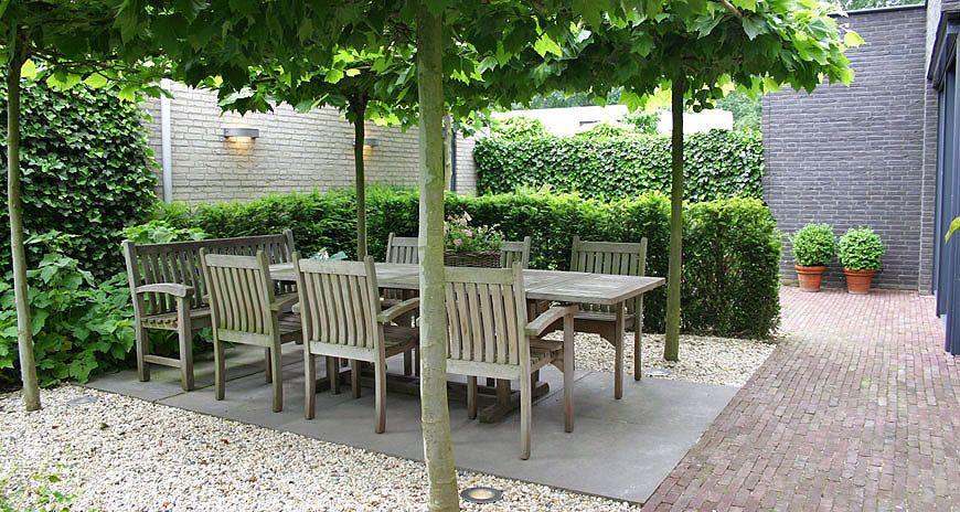 Idee voor terras tuintuin