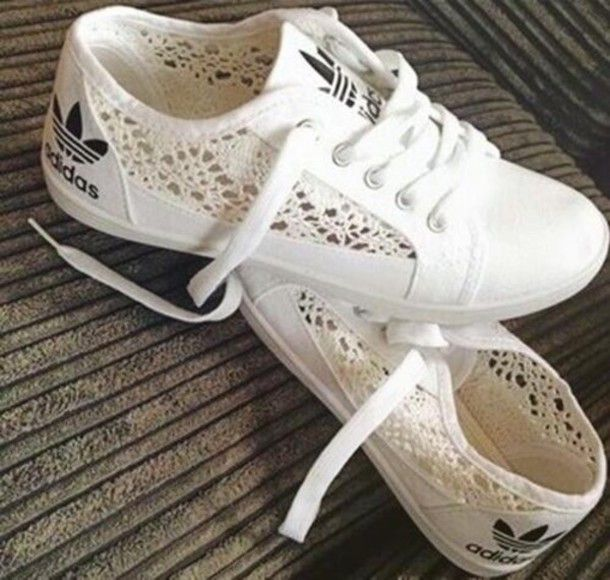 hollow out, ladies, adidas shoes