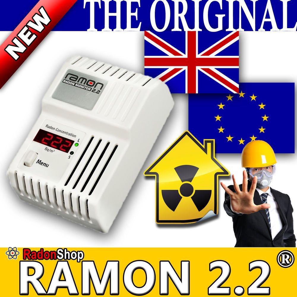 Ramon 2 2 Radon Monitor Radiation Gauge Radon Detector Radioaktivity Radon Detector Radiation