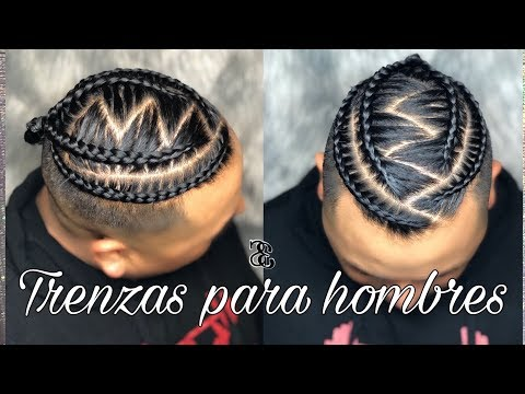 Pin By Yohanna López On Trenzas Para Hombres Cornrow Styles For Men Hair Styles Braided Hairstyles