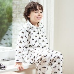 Boy's traditional Pyjamas, Black Taxis | Children's pyjamas ...