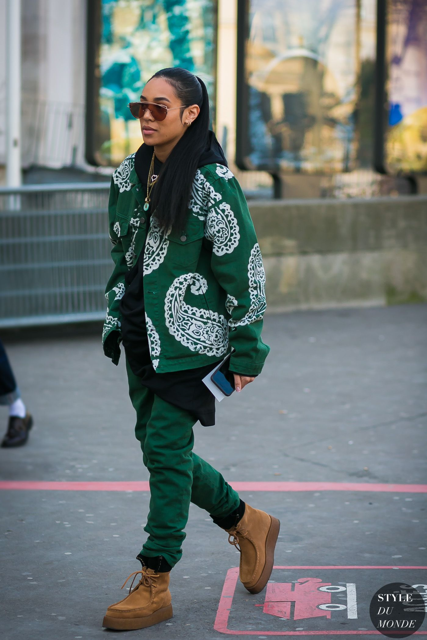 3dd66f7b793 Paris Men s Fashion Week Fall 2017 Street Style  Aleali May ...