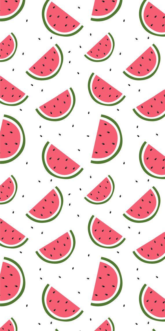 Self Adhesive Removable Wallpaper Watermelon Delight Wallpaper