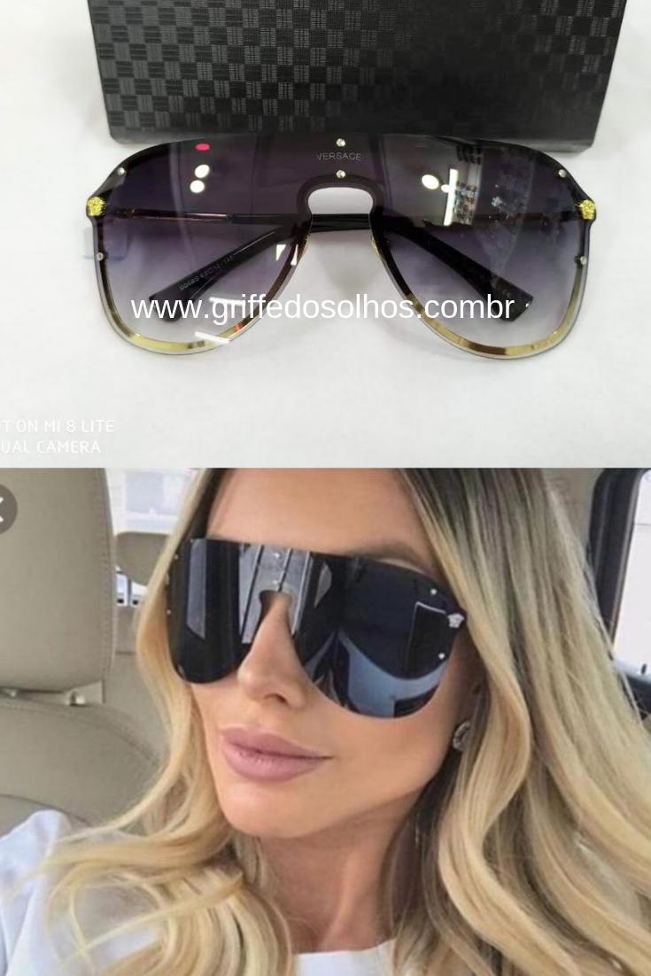 41011b2eb Pin de Griffe dos Olhos em Óculos de Sol Versace 2019 em 2019 | Versace,  Sunglasses e Glasses