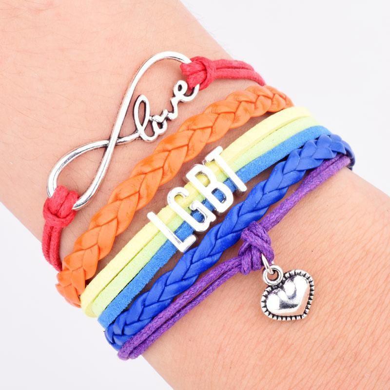 Rainbow Support Bracelet