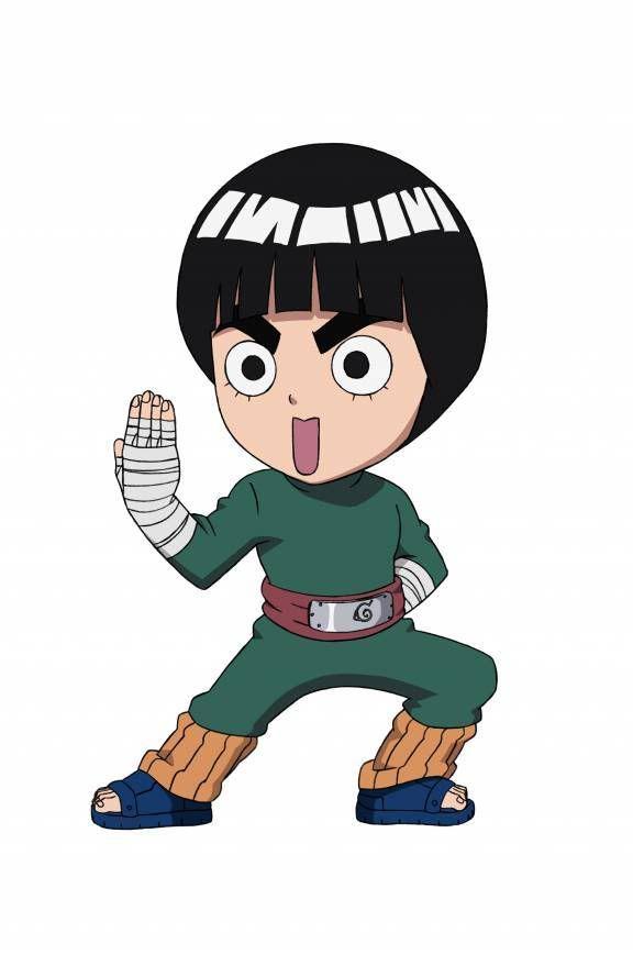 Rocklee Chibi Jpg 576 869 Chibi Naruto Characters Lee Naruto Chibi
